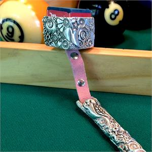 Combolicious Flora Cueduster Billiards Chalk Holder