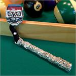 Combolicious Skull Cueduster Billiards Chalk Holder
